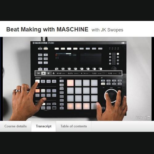 Beat Making With Maschine