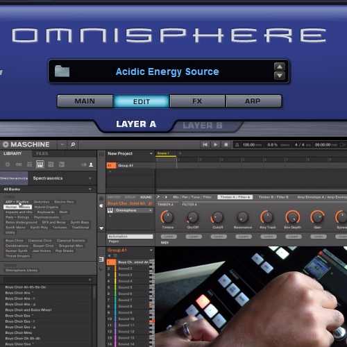 Spectrasonics Omnisphere VST Factory Preset Templates for Maschine