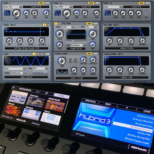 Air Music Tech Hybrid 3 NKS Presets